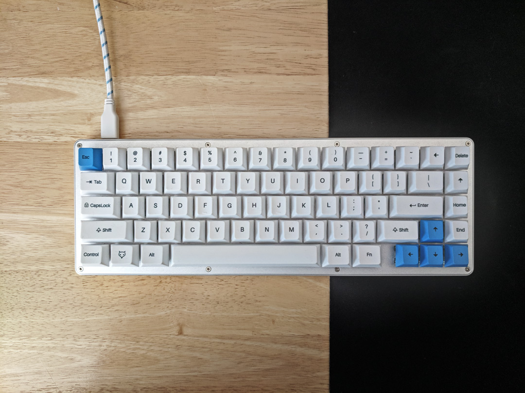WhiteFox Keyboard Build Log · Spooler